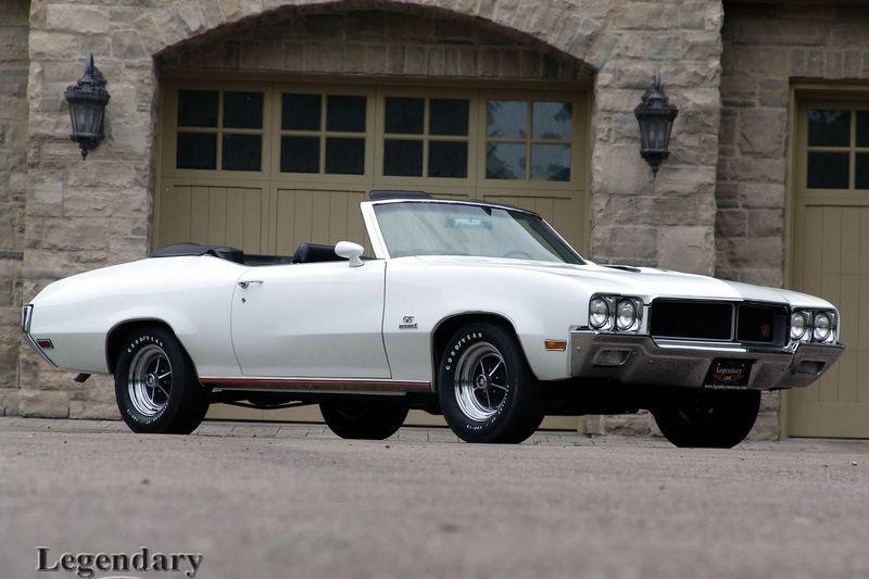 Photo of 1970 Buick GS Stage 1 Convertible