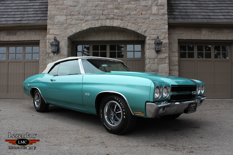 Photo of 1970 Chevrolet Chevelle SS 454 LS6 Convertible