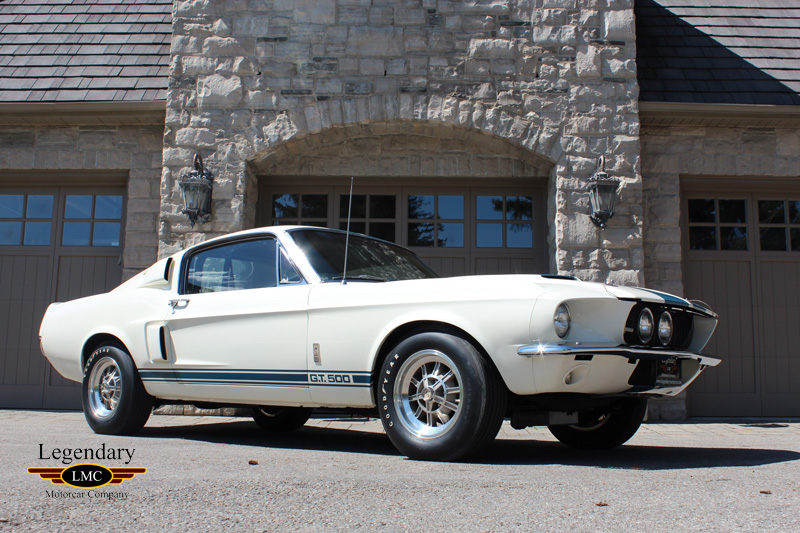 1967 Shelby Gt500 Very Rare Factory Wimbledon White