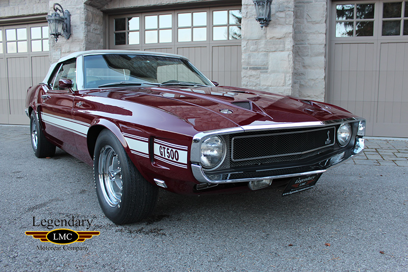 1969 Shelby Gt500 Scj Convertible Extremely Rare And