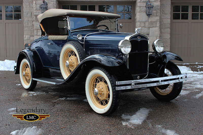 Photo of 1931 Ford Model A Deluxe Roadster