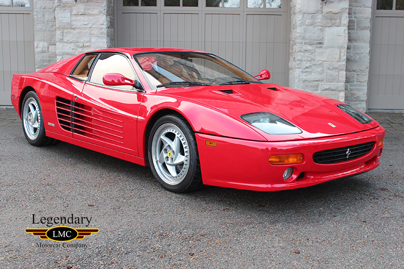 1995 Ferrari 512m Number 21 Of Only 75 Built For Usa