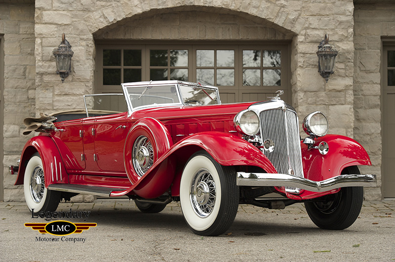 Photo of 1933 Chrysler Imperial CL Dual Windshield Phaeton