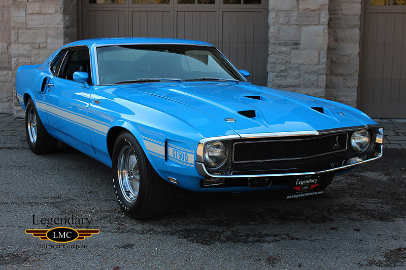 Photo of 1969 Ford Mustang Shelby GT500 SCJ