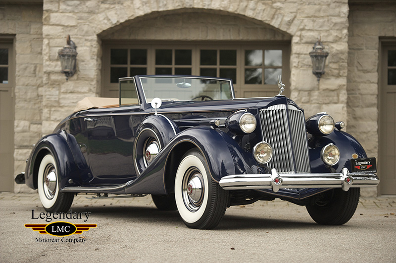 Photo of 1937 Packard  Twelve Coupe Roadster