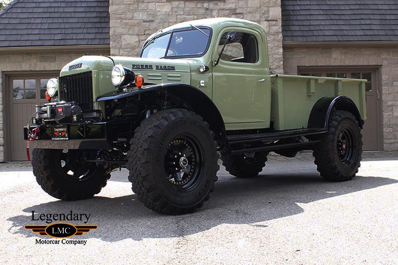 1943 Dodge Power Wagon Built By Legacy Classic Trucks