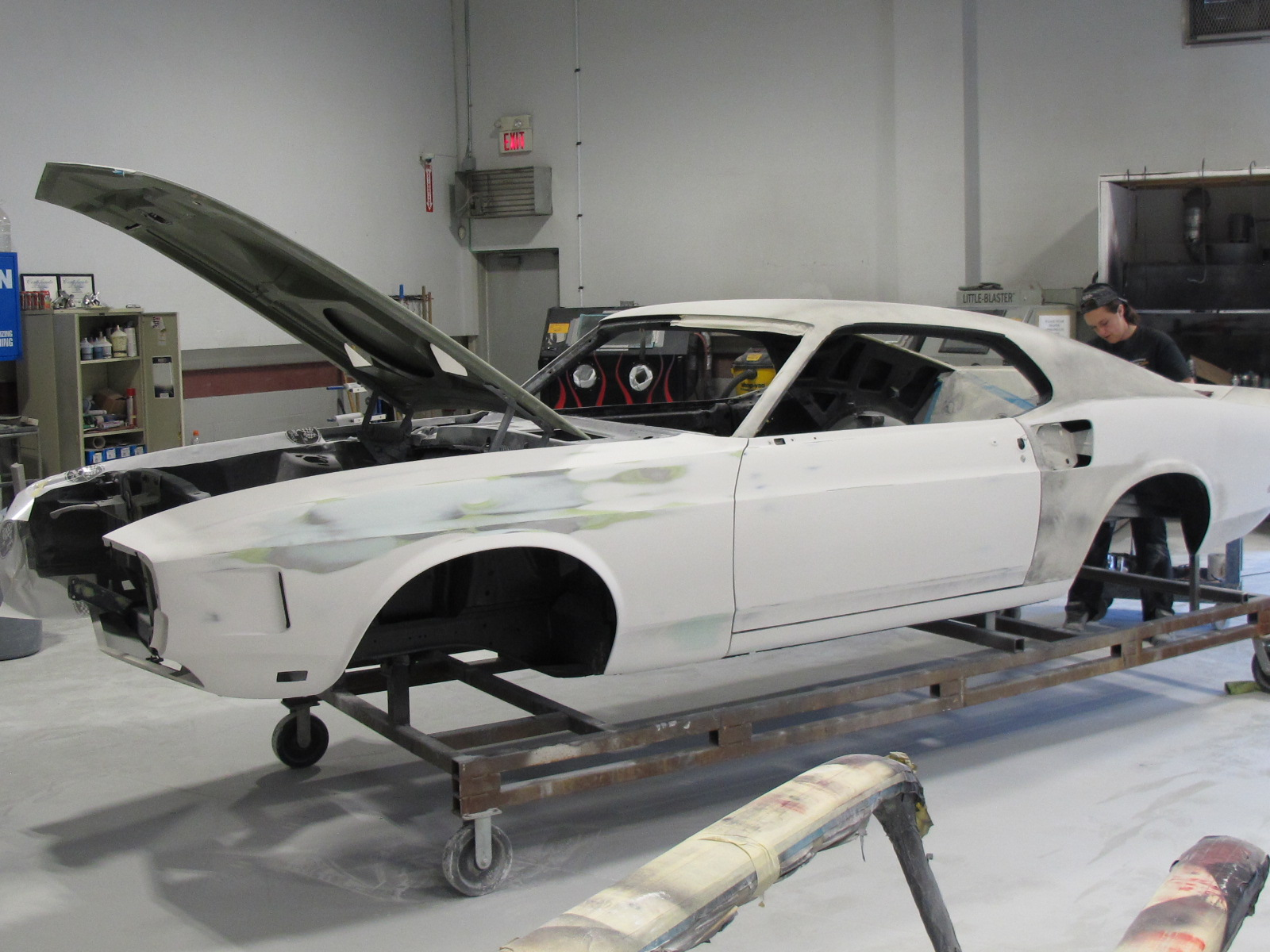 1969 Shelby Gt500 Ford Mustang Photo 17 Of