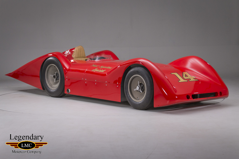 "Photo of 1955  Keck Streamliner "" Fuel Injection Special"""