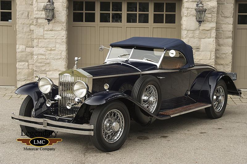 1931 Rolls-Royce Phantom II Henley Roadster - Complete ...