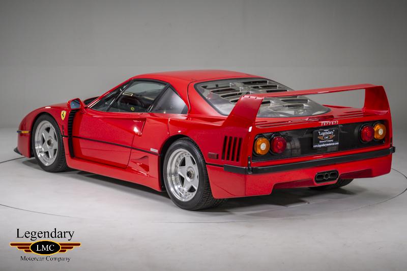1992 Ferrari F40 One Of The Most Iconic Ferrari Supercars
