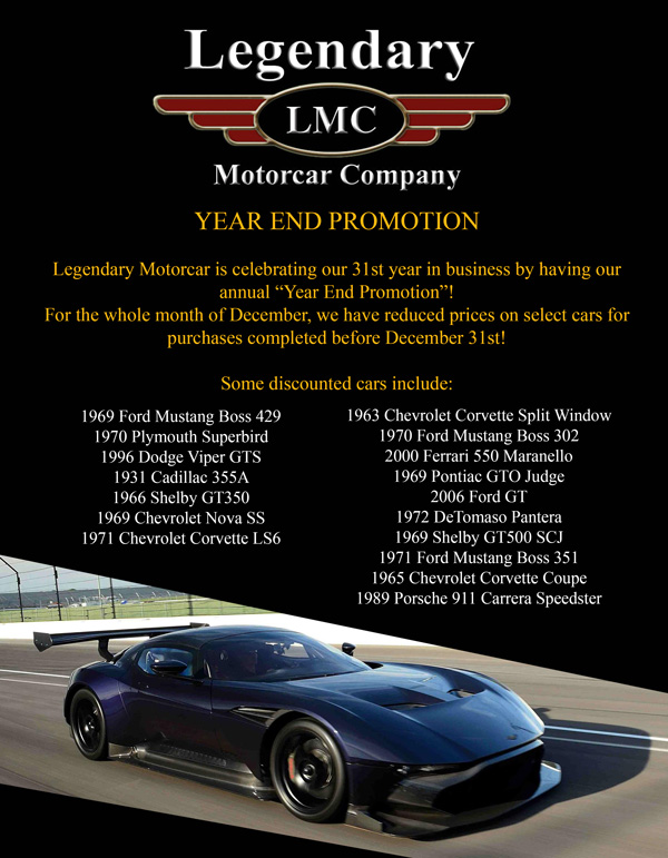 2016 LMC Year End Promotion
