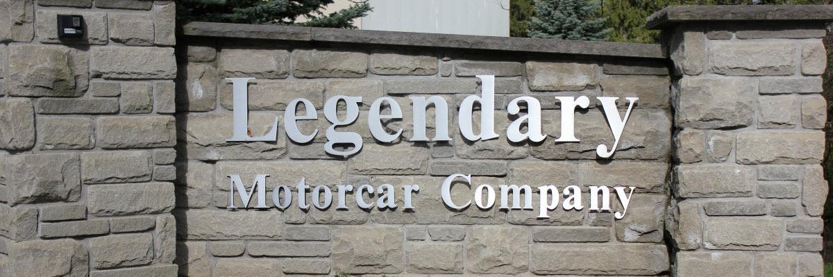 Legendary Motorcar Contact Us
