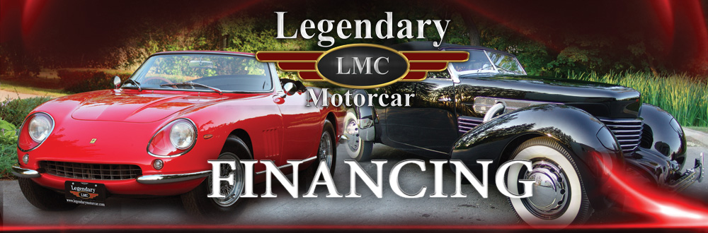 Classic Muscle Performance Car Leasing And Financing Legendary - Classic car financing