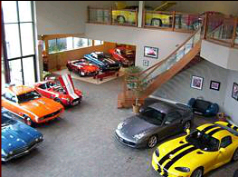 Legendary Motorcar Showroom