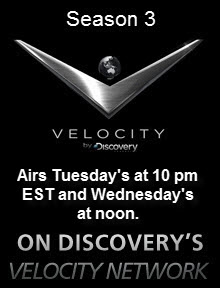Legendary Motorcar TV on Discovery Velocity Network
