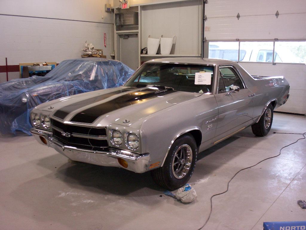 1970 El Camino Ss Ls6 454 450hp