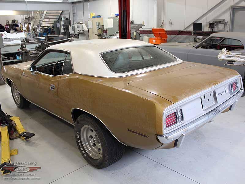 1971 Plymouth Cuda/Dodge Viper Resto-Mod