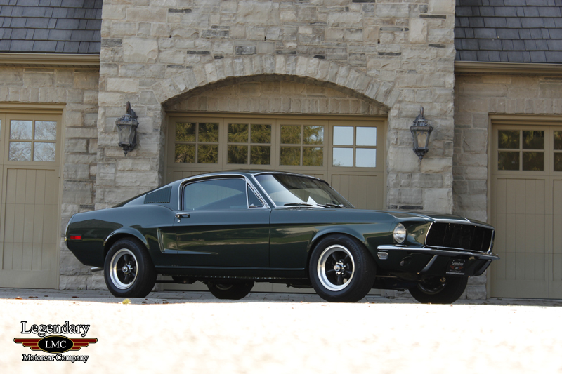Photo of 1968 Ford Mustang Bullitt Project