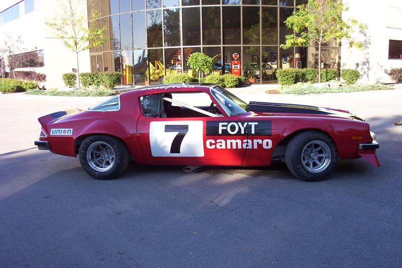 Photo of 1975 Chevrolet Camaro IROC Race Car