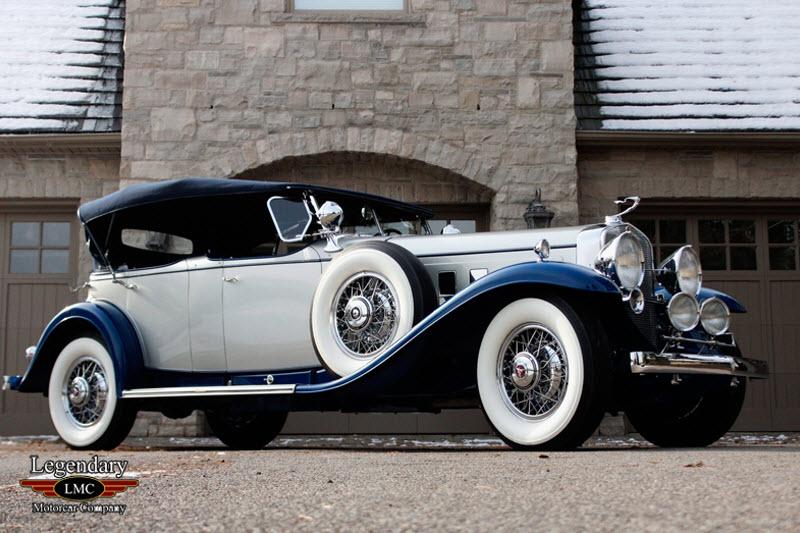 Antique Auto For Sale In Arkansas: 1932 Cadillac V16 Sport Phaeton