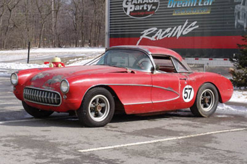 1957 Corvette Big Brake Fuelie Racecar