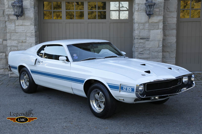 Photo Of 1969 Ford Mustang Shelby Gt350