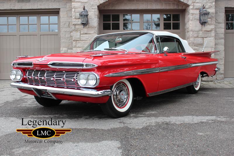 1959 Chevrolet Impala Convertible National 1st Winner 348 Tri Power
