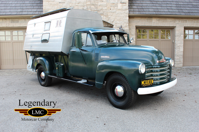 1952 Chevrolet 3800 Pick Up Truck Formerly Owned By Steve Mcqueen