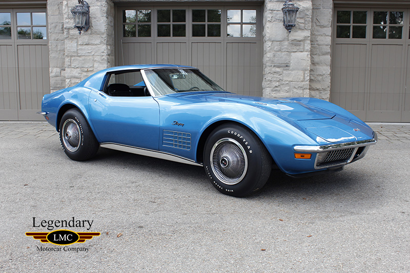 1971 Chevrolet Corvette Coupe - 1 of 188 Ever Built, LS6, M-22