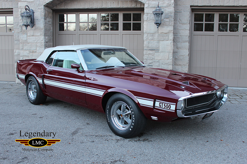 Photo of 1969 Ford Mustang Shelby GT500 Super Cobra Jet