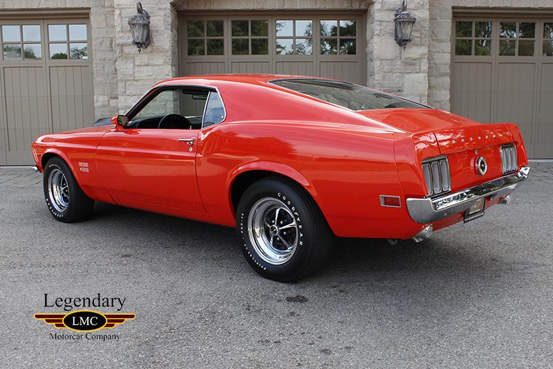 1970 Ford Mustang Boss 429 - California Boss, Numbers