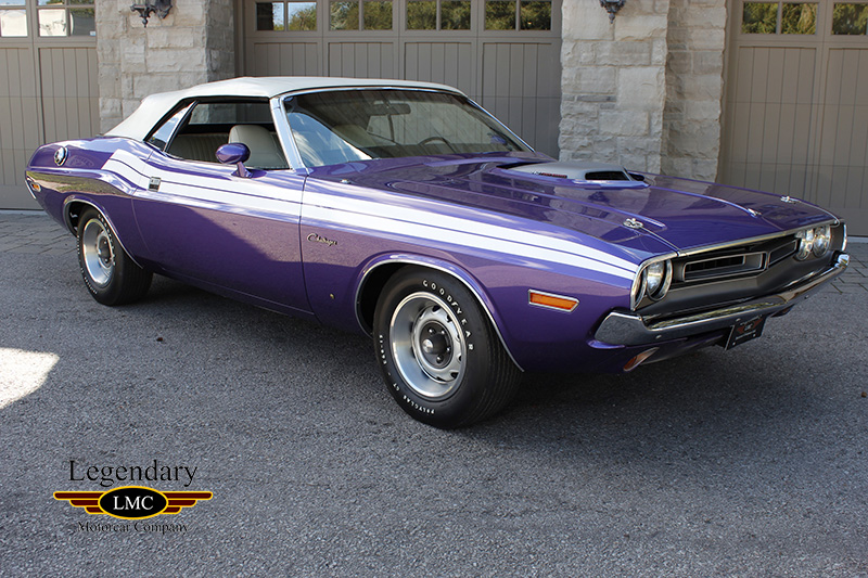 1971 Dodge Challenger Convertible Very Low Production Numbers