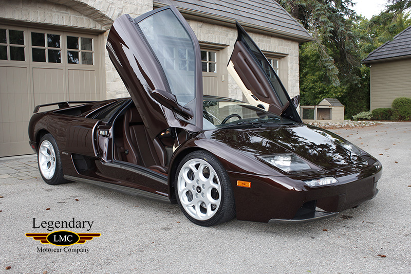 2001 Lamborghini Diablo Sunset Edition 1 Of 20 Ever Built