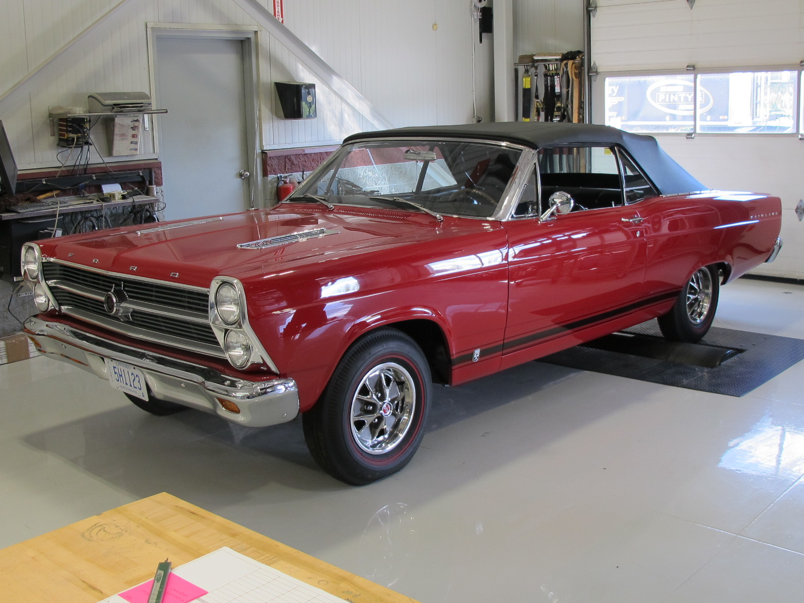 "Photo of 1966 Ford Fairlane Convertible ""S"" Code 390"