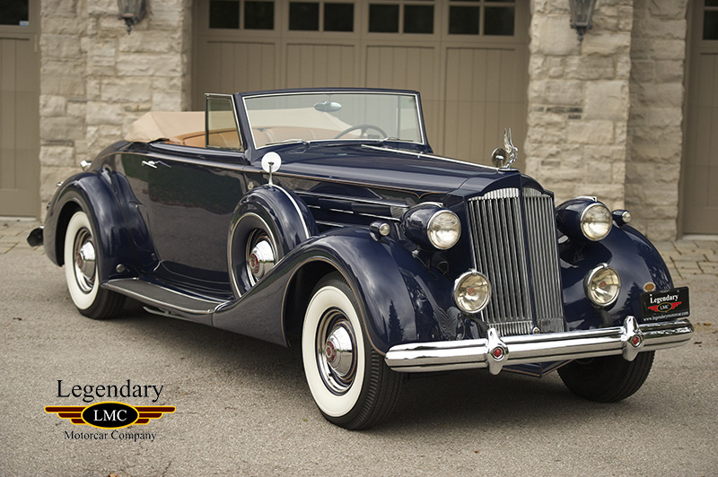 1937 Packard Twelve Coupe Roadster -Only 69 Packard Twelve Coupe