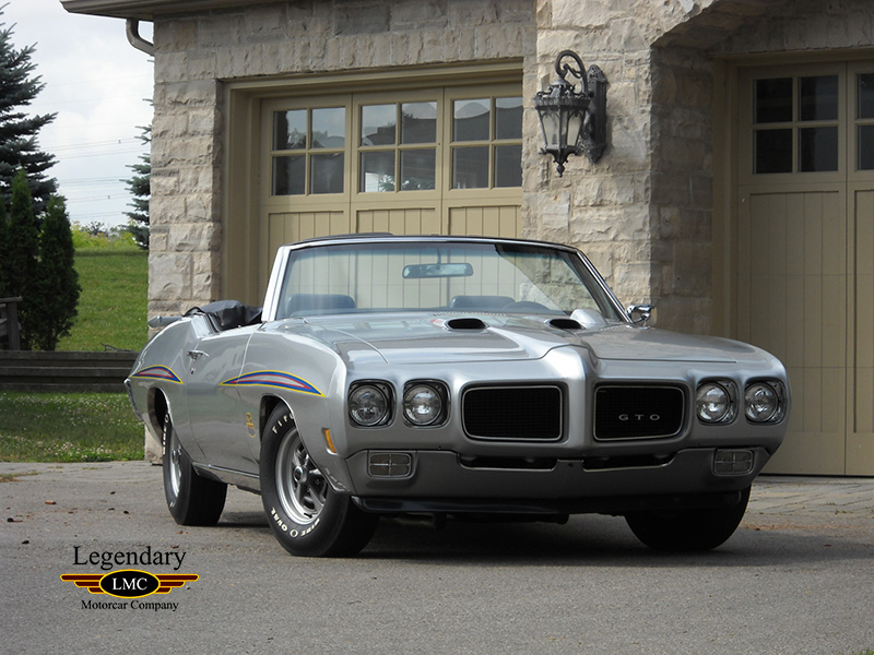 1970 Pontiac GTO Judge Convertible - 1 Of Only 6 Ram AIR IV
