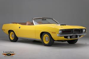 Photo of 1970 Cuda HEMI Convertible