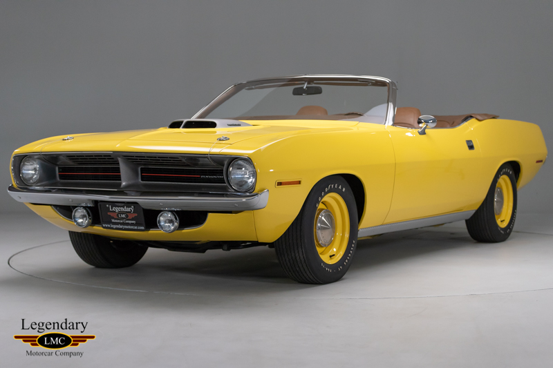 1970 Plymouth HEMI Cuda - Documented Original, The Holy