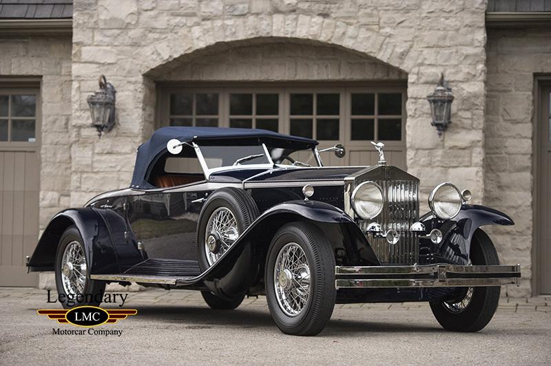 Photo of 1931 Rolls Royce  Phantom II Henley Roadster