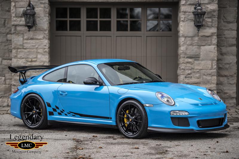 2011 Porsche Gt3rs 1 Of A Few Pts Riviera Blue Paint Only