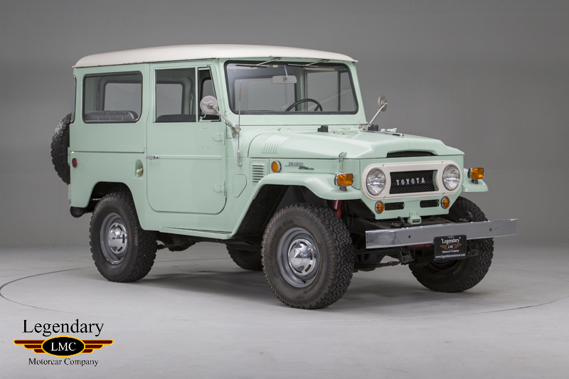 Photo of 1969 Toyota FJ40 Land Cruiser