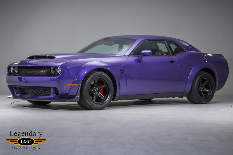2018 Dodge Srt Demon Rare Plum Crazy Purple With Black