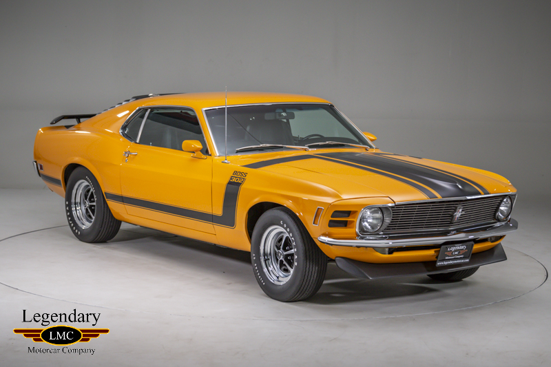 1970 ford mustang boss 302 collectible factory grabber orange