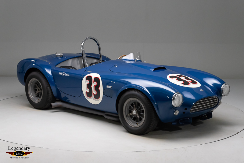 Photo of 1963 Bob Johnson Race Cobra