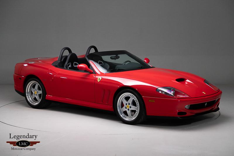 Photo of 2001 Ferrari 550 Barchetta